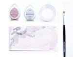 TBD-80 Tinta BRILLIANCE color blanco luna efecto nacarado Tsukineko - Ítem1