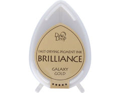 TBD-91 Tinta BRILLIANCE color oro galactico efecto nacarado Brilliance