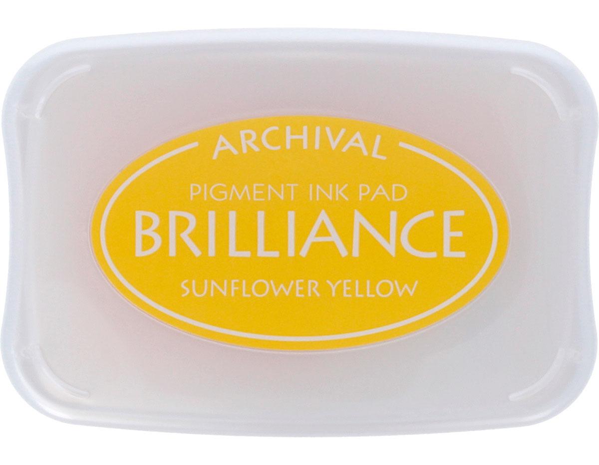 TBR-11 Tinta color amarillo girasol efecto nacarado Tsukineko