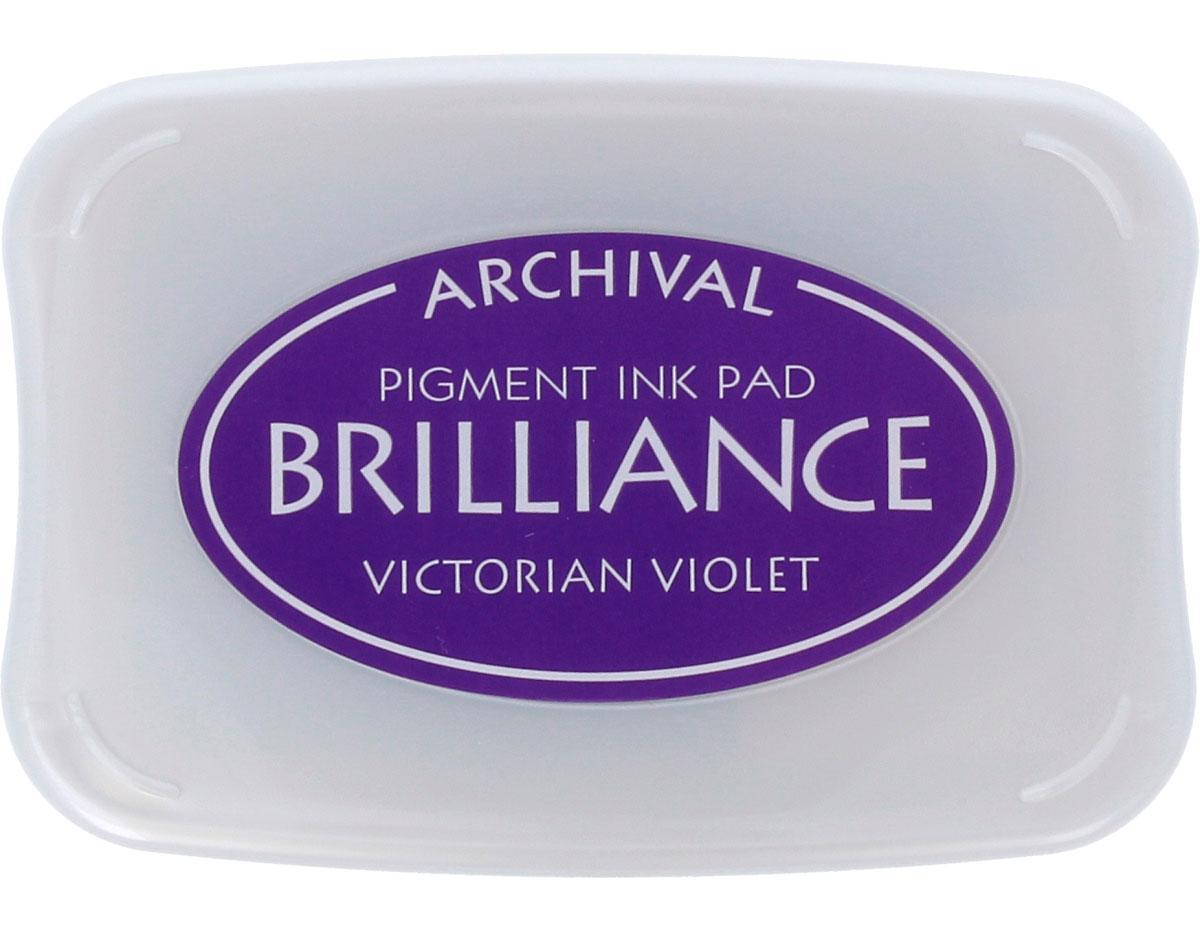 TBR-17 Tinta BRILLIANCE color violeta victoriano efecto nacarado Tsukineko