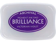 TBR-17 Tinta BRILLIANCE color violeta victoriano efecto nacarado Brilliance