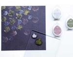 TBR-17 Tinta BRILLIANCE color violeta victoriano efecto nacarado Tsukineko - Ítem2