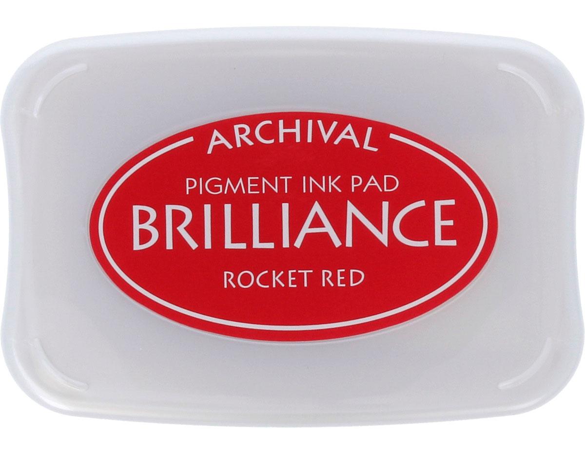 TBR-23 Tinta BRILLIANCE color rojo cohete efecto nacarado Tsukineko