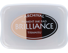 TBR-305 Tinta BRILLIANCE 3 colores tiramisu efecto nacarado Brilliance