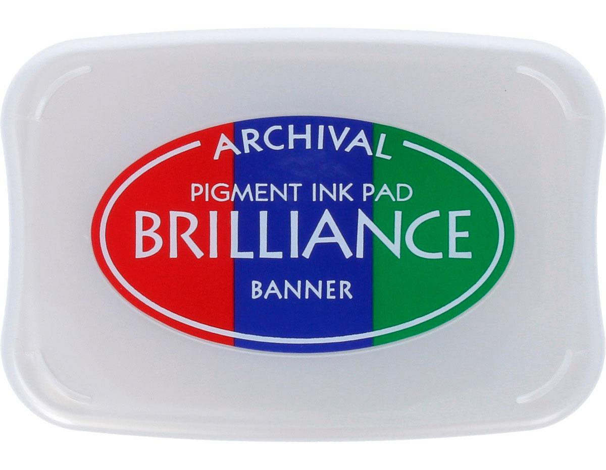 TBR-306 Tinta BRILLIANCE 3 colores banner efecto nacarado Brilliance