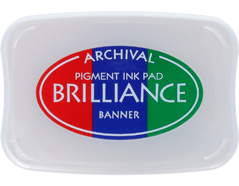 TBR-306 Tinta BRILLIANCE 3 colores banner efecto nacarado Brilliance
