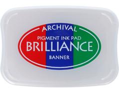 TBR-306 Tinta BRILLIANCE 3 colores banner efecto nacarado Brilliance - Ítem
