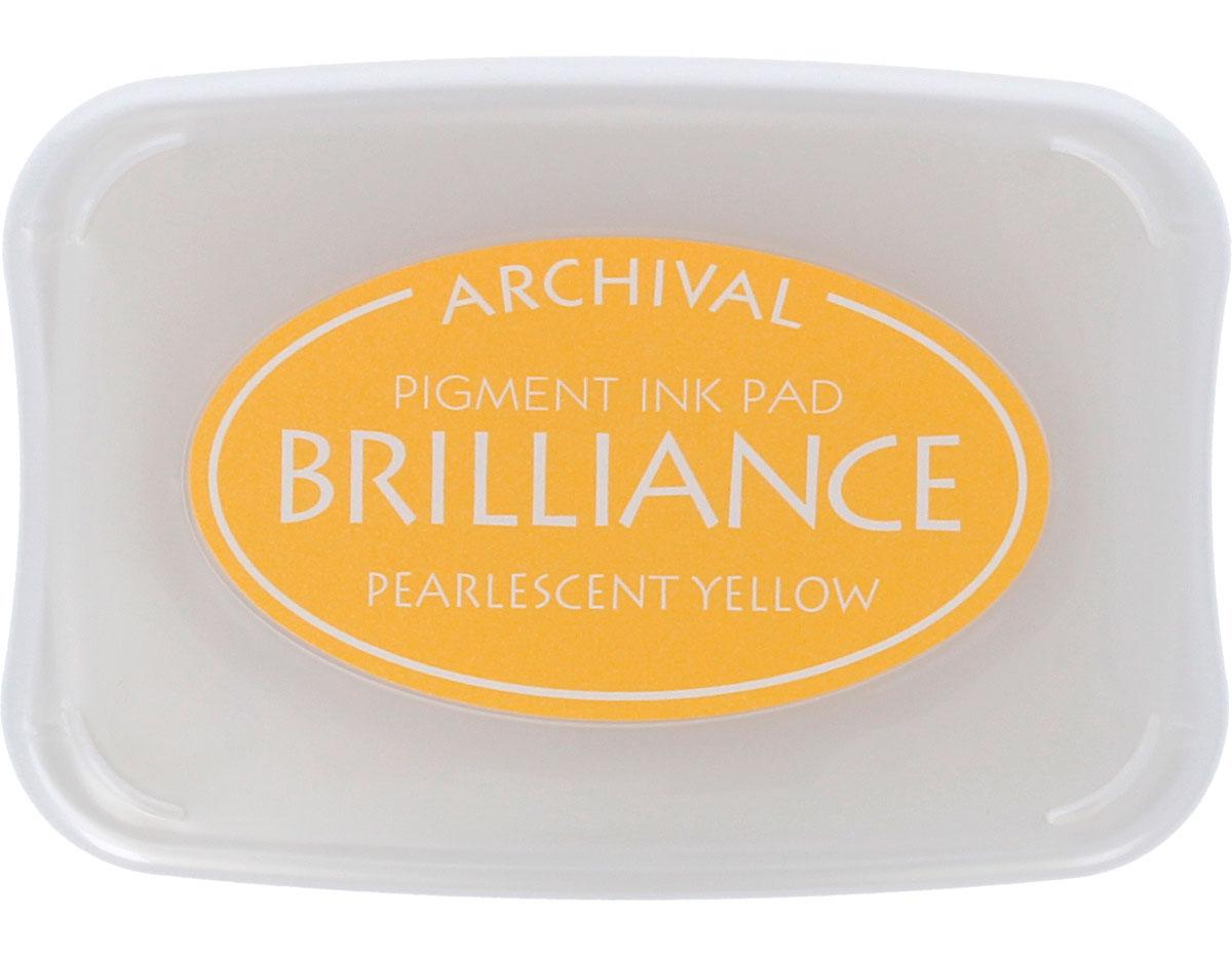 TBR-30 Tinta BRILLIANCE color amarillo perlado efecto nacarado Brilliance