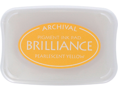 TBR-30 Tinta BRILLIANCE color amarillo perlado efecto nacarado Brilliance
