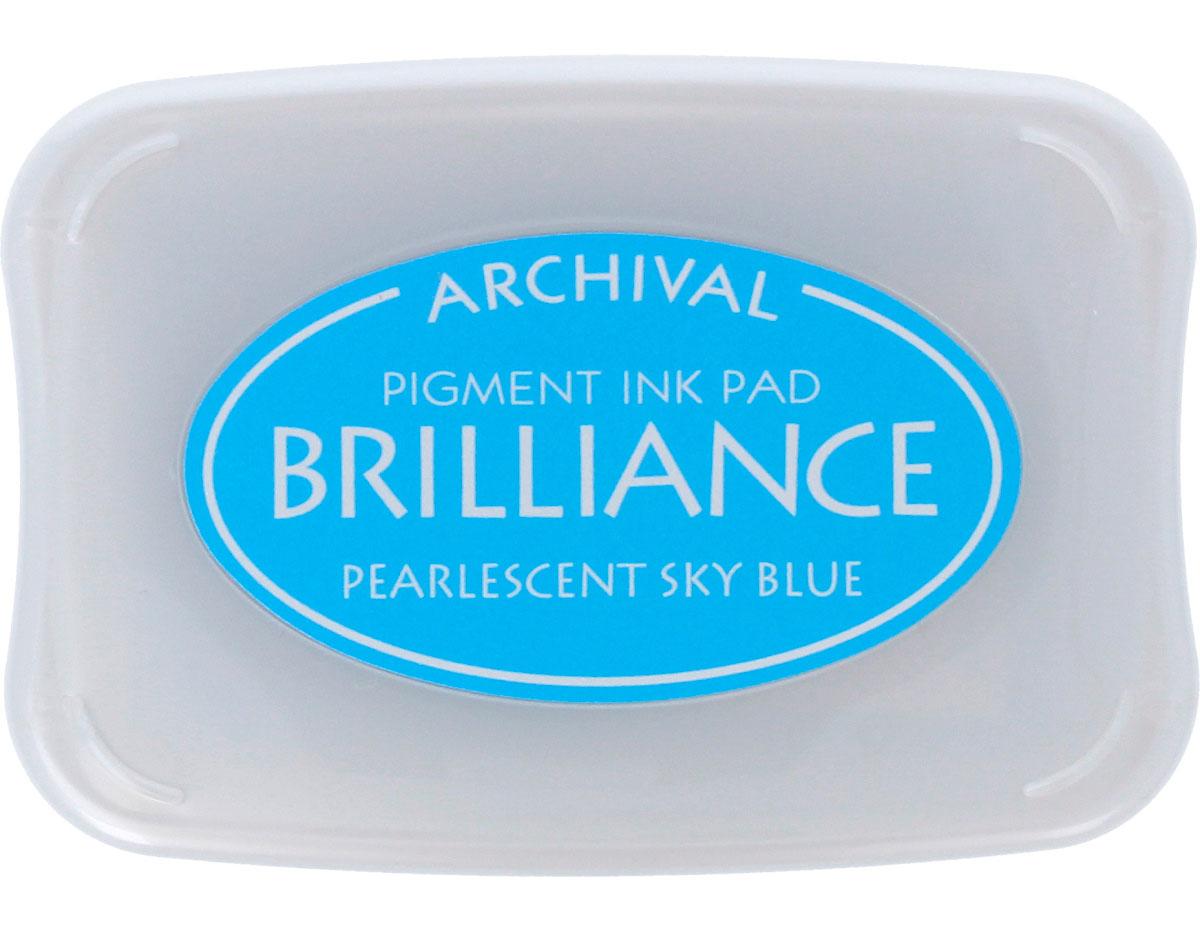 TBR-38 Tinta BRILLIANCE color azul cielo efecto nacarado Brilliance