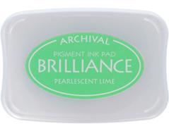 TBR-42 Tinta color verde lima perlado efecto nacarado Brilliance
