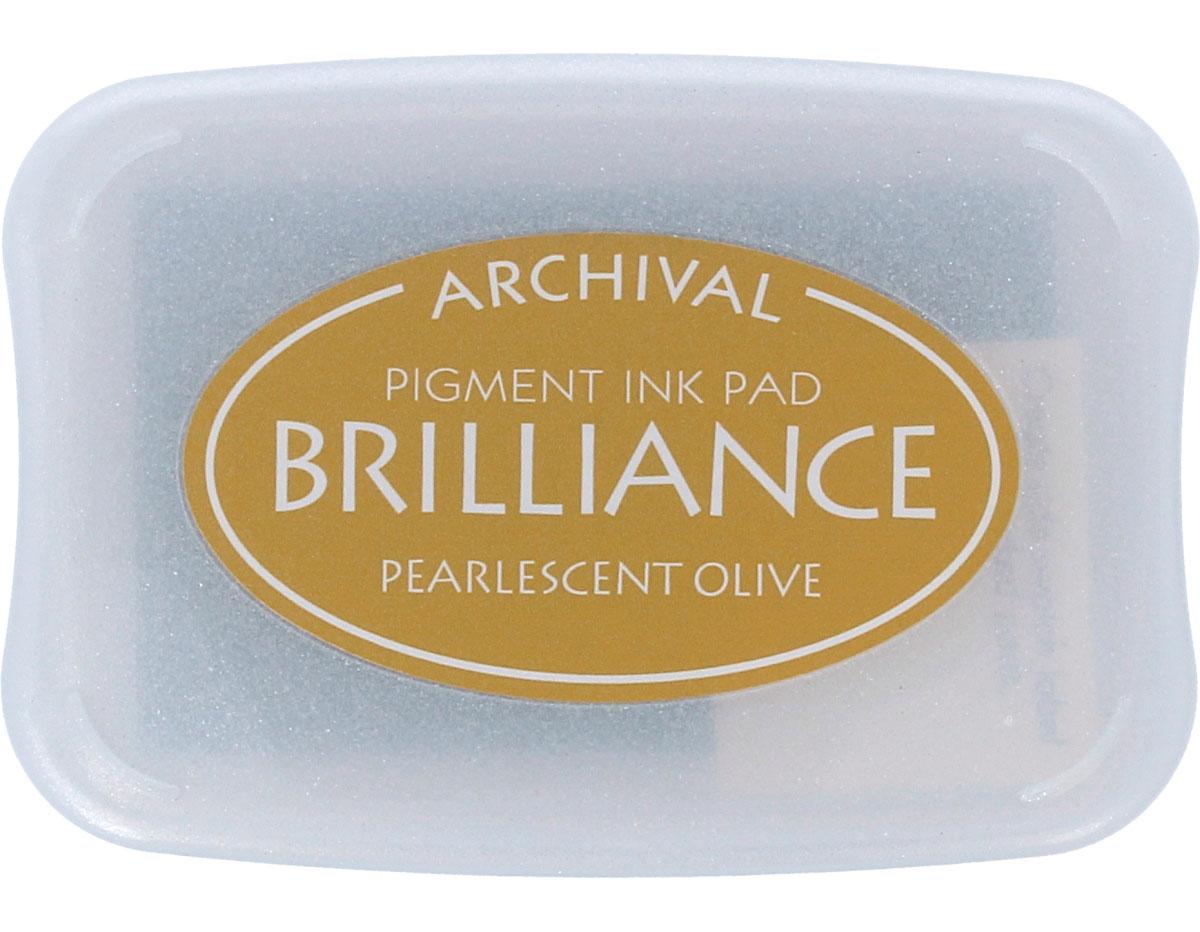 TBR-53 Tinta BRILLIANCE color oliva perlado efecto nacarado Brilliance