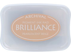 TBR-55 Tinta BRILLIANCE color beige perlado efecto nacarado Brilliance