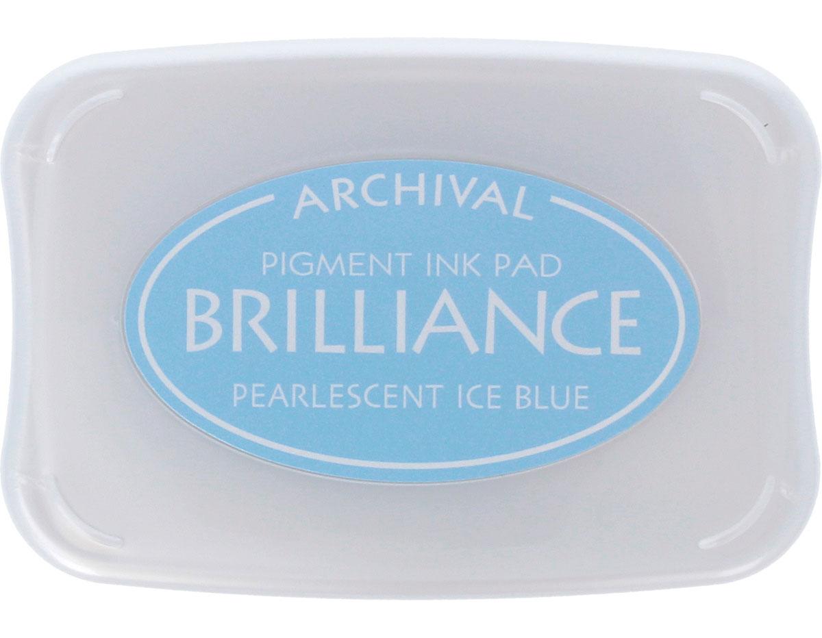 TBR-74 Tinta BRILLIANCE color azul hielo perlado efecto nacarado Brilliance