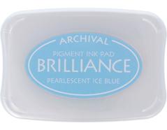 TBR-74 Tinta BRILLIANCE color azul hielo perlado efecto nacarado Brilliance - Ítem