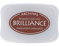 TBR-76 Tinta BRILLIANCE color chocolate perlado efecto nacarado Brilliance