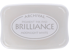 TBR-80 Tinta BRILLIANCE color blanco luna efecto nacarado Brilliance