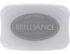 TBR-90 Tinta BRILLIANCE color negro con luz de estrella efecto nacarado Brilliance