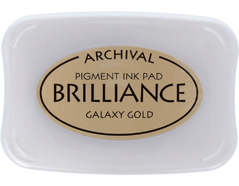TBR-91 Tinta BRILLIANCE color oro galactico efecto nacarado Brilliance