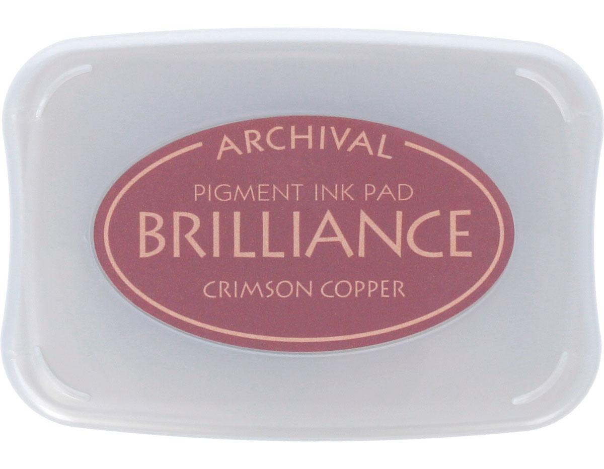TBR-97 Tinta BRILLIANCE color cobre carmesi efecto nacarado Brilliance