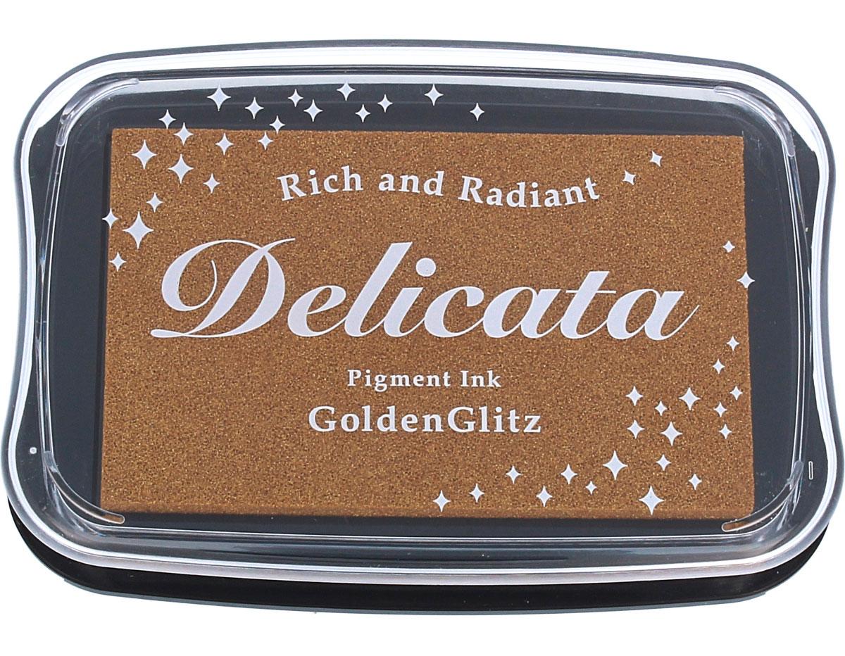 TDE-191 Tinta DELICATA color destello dorado oro metalico Delicata