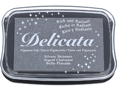 TDE-192 Tinta DELICATA color brillo plateado metalica brillante Delicata - Ítem