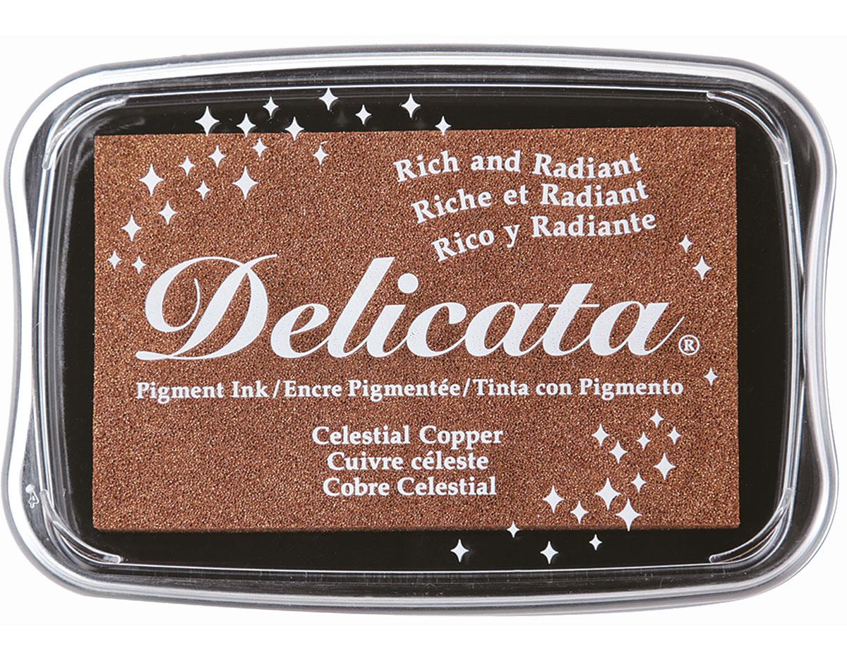 TDE-193 Tinta DELICATA color cobre celestial metalica brillante Delicata
