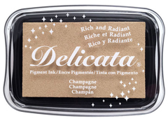 TDE-196 Tinta DELICATA color champan metalica brillante Delicata - Ítem