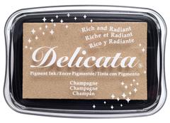 TDE-196 Tinta DELICATA color champan metalica brillante Delicata