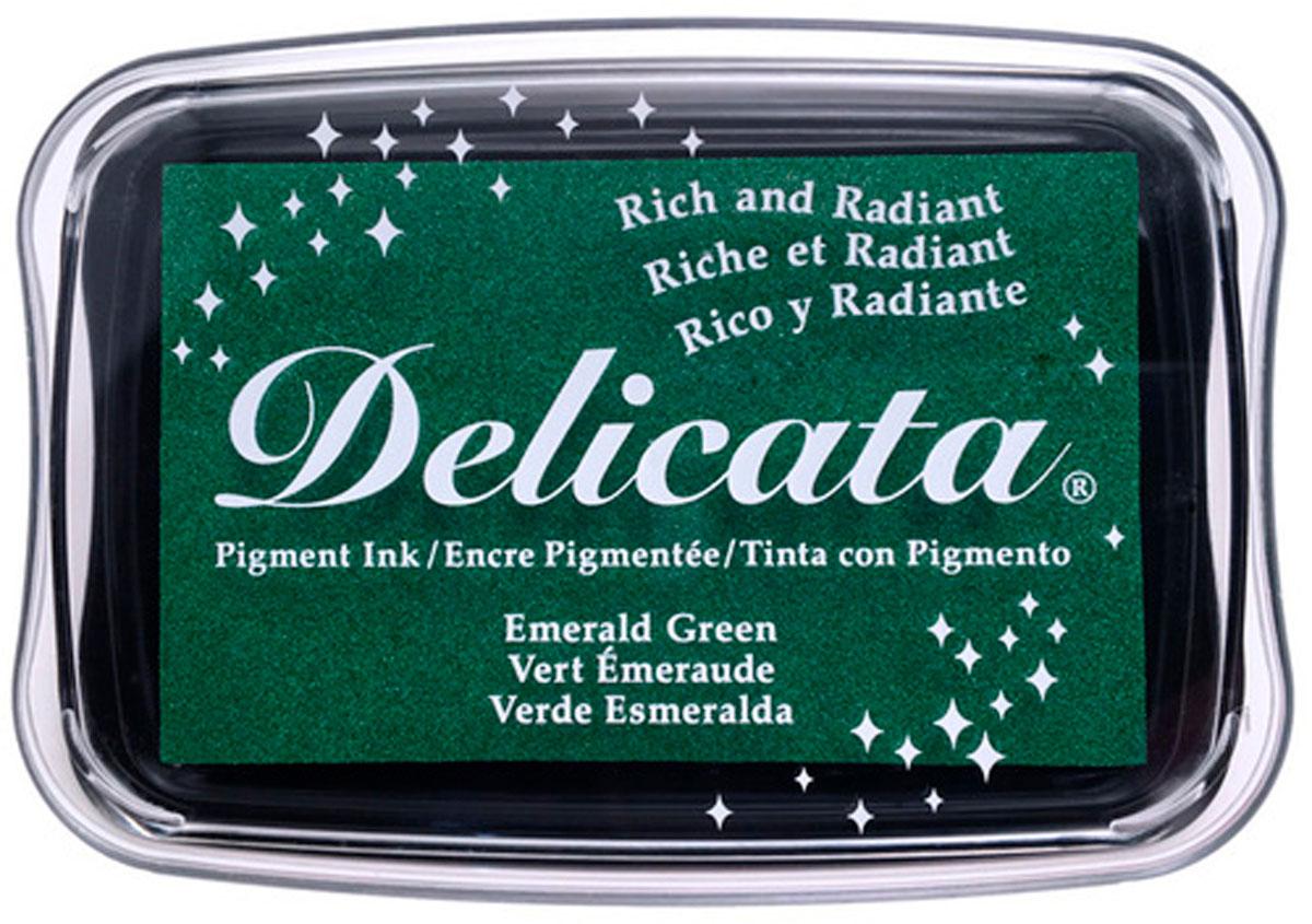 TDE-321 Tinta DELICATA color verde esmeralda metalica brillante Delicata