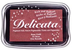 TDE-357 Tinta DELICATA color oro rosado metalica brillante Delicata