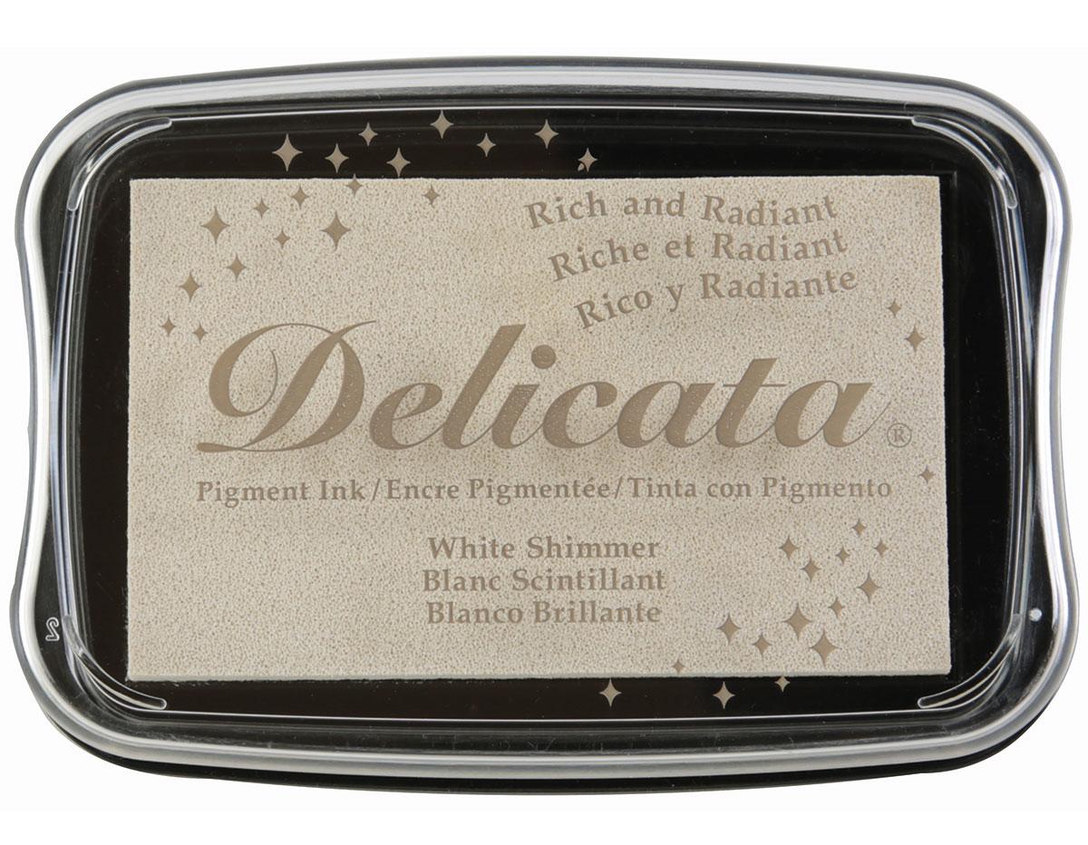 TDE-380 Tinta DELICATA color blanco metalica brillante Delicata