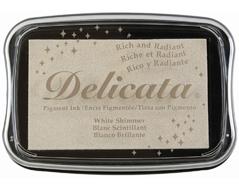 TDE-380 Tinta DELICATA color blanco metalica brillante Delicata - Ítem