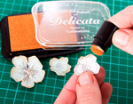 TDE-QTT-001 Set 4 almohadillas de tinta DELICATA opaca colores metalicos Delicata - Ítem3