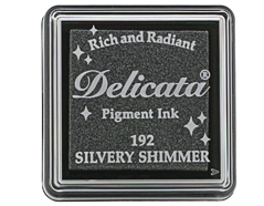 TDE-SML-192 Tinta DELICATA color brillo plateado metalica brillante Delicata