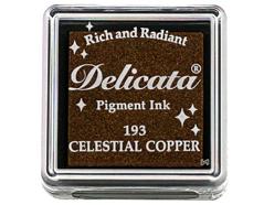 TDE-SML-193 Tinta DELICATA color cobre celestial metalica brillante Delicata