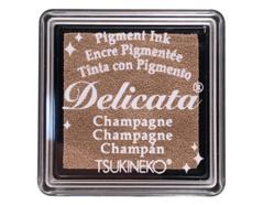 TDE-SML-196 Tinta DELICATA color champan metalica brillante Delicata