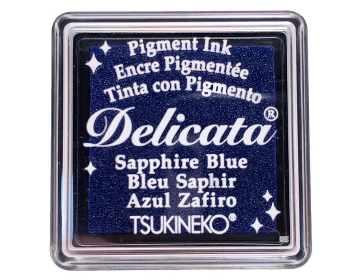 TDE-SML-318 Tinta DELICATA color azul zafiro metalica brillante Tsukineko