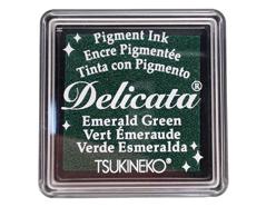 TDE-SML-321 Tinta DELICATA color verde esmeralda metalica brillante Delicata