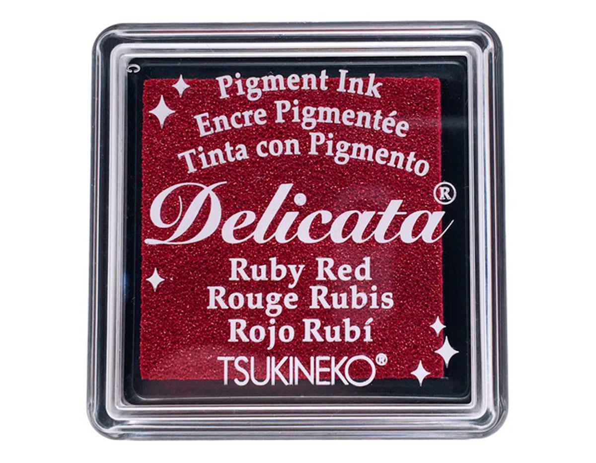 TDE-SML-325 Tinta DELICATA color rojo rubi metalica brillante Delicata