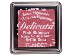 TDE-SML-333 Tinta DELICATA color rosa metalica brillante Delicata