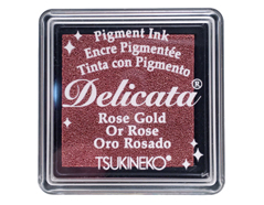TDE-SML-357 Tinta DELICATA color oro rosado metalica brillante Delicata