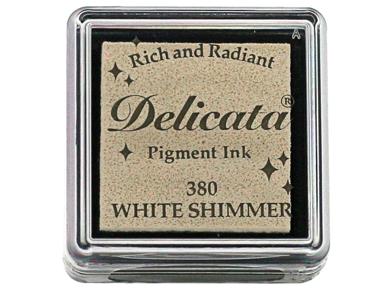 TDE-SML-380 Tinta DELICATA color blanco metalica brillante Delicata
