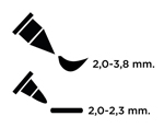 TFAM-106 ROTULADOR-FABRICO MARKER Twin Point LIPSTICK PINK Versacraft - Ítem2