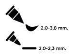 TFAM-167 ROTULADOR-FABRICO MARKER Twin Point PEA POD Versacraft - Ítem2