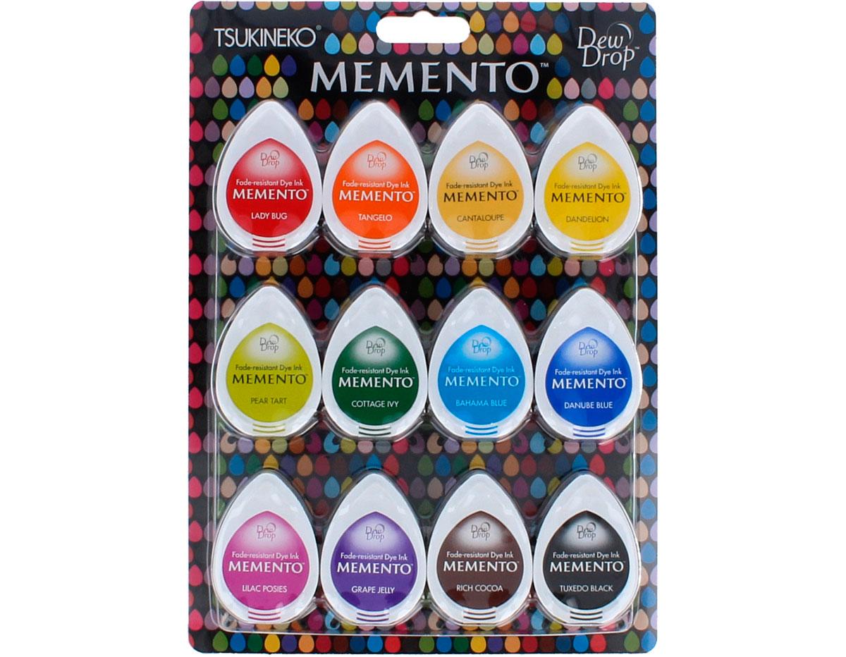 TMD-012-100 Set 12 almohadillas de tinta translucida MEMENTO gomitas dulces Memento