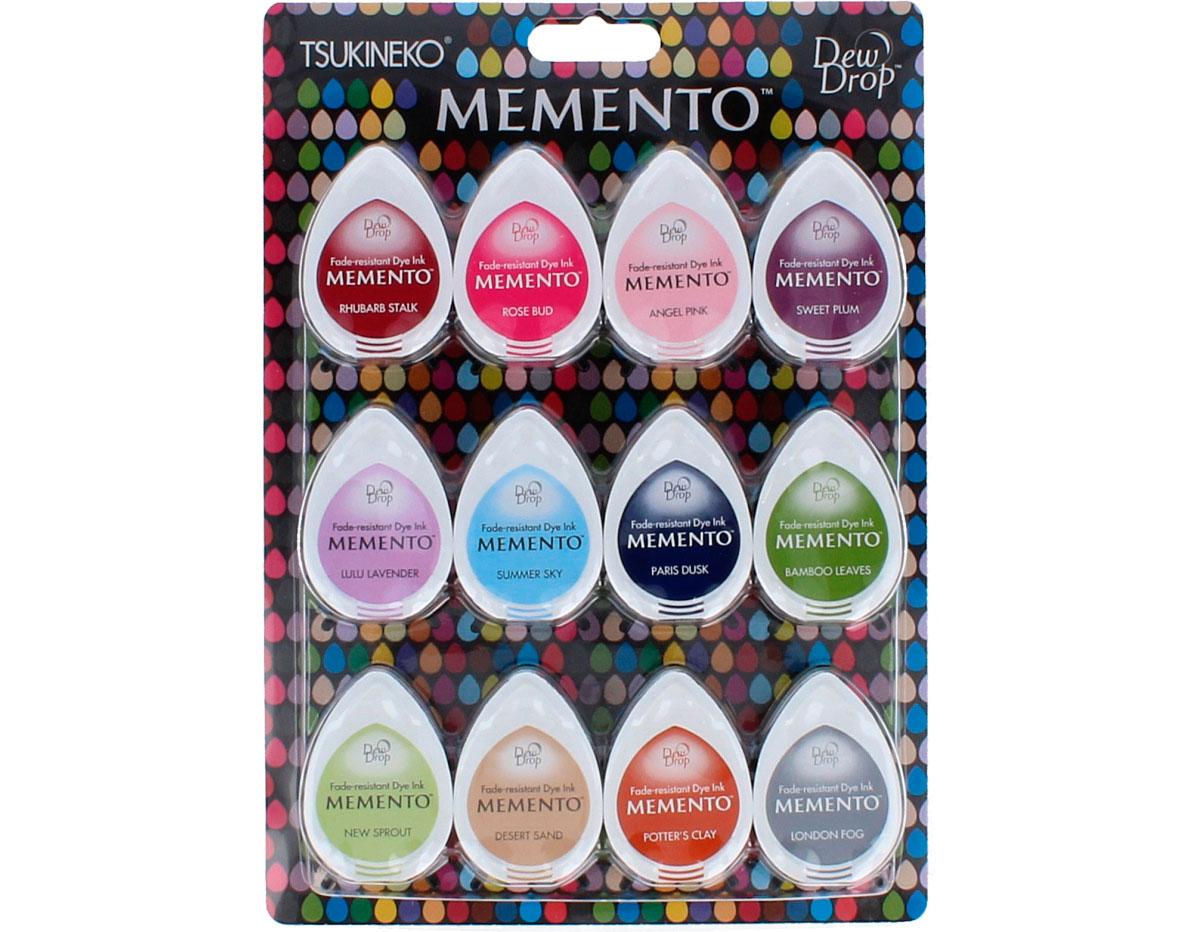 TMD-012-200 Set 12 almohadillas de tinta translucida MEMENTO cucharadas de sorbete Memento