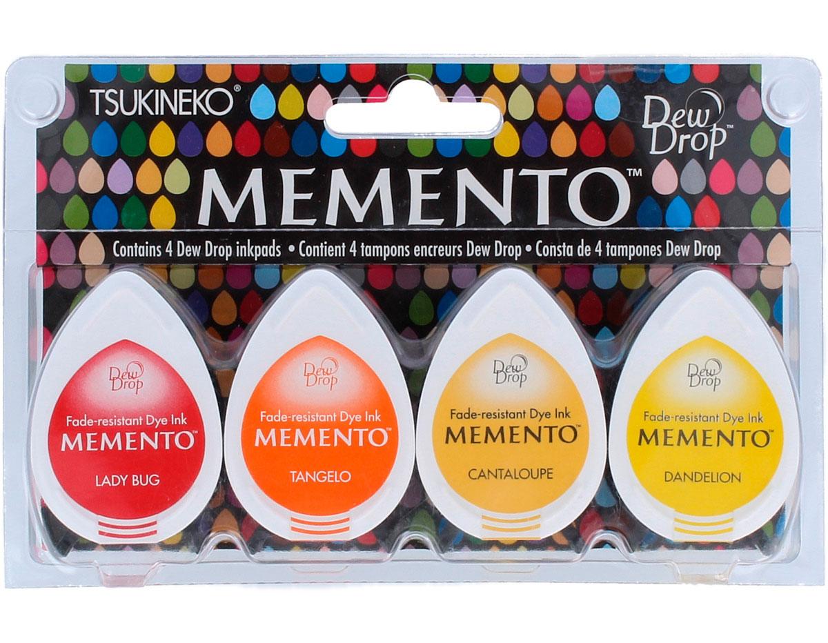 TMD-100-001 Set 4 almohadillas de tinta translucida MEMENTO fogata Memento