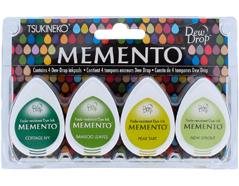 TMD-100-002 Set 4 almohadillas de tinta translucida MEMENTO invernadero Memento