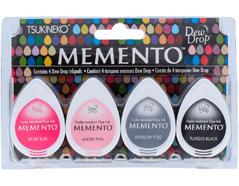 TMD-100-006 Set 4 almohadillas de tinta translucida MEMENTO noche de fiesta Memento